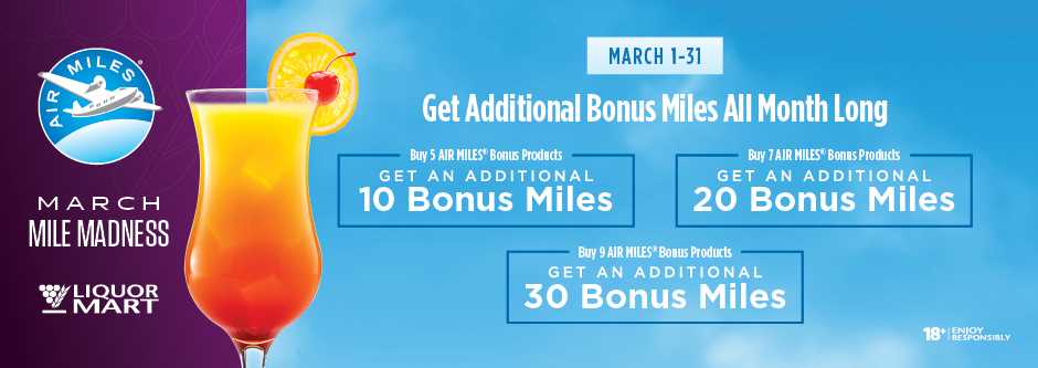 AIR MILES March Campaign