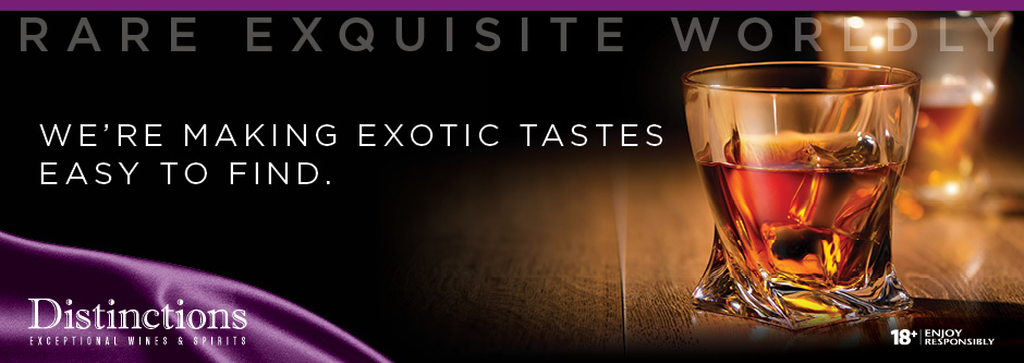 Distinctions - We are making exotic tastes easy to find