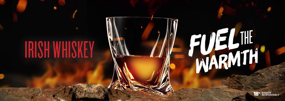 Irish Whisky - Fuel the Warmth | Manitoba Liquor Mart