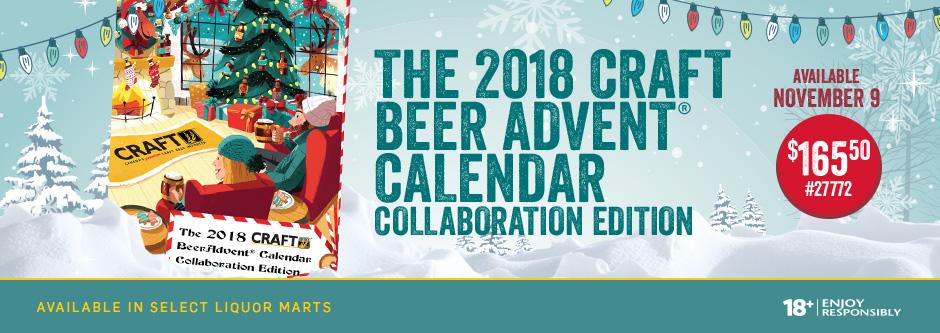 Craft Beer Advent Calendar 2018 Manitoba Liquor Mart