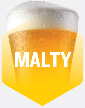 Malty Flavour Beer