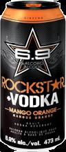 Rockstar + Vodka Mango Orange 473 ml