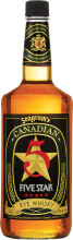 Canadian Five Star Rye Whisky 1.14 Litre