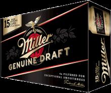 Miller Genuine Draft 15 x 355 ml