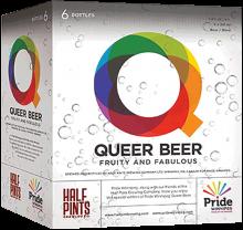 Half Pints Brewing - Queer Beer 6 x 341 ml