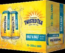 Boston Beer Company Twisted Tea Half & Half 12 x 355 ml