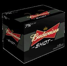 Budweiser Shot 6 x 236 ml