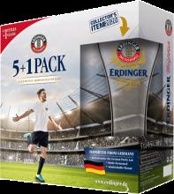Erdinger Weissbier Football Pack 5 x 500 ml