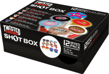 Twisted Shotz Shot Box 12x30ml 12 x 30 ml