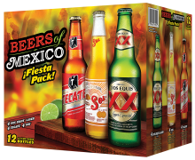 Beers of Mexico Taster Pack 12 x 355 ml