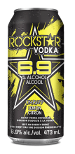 Rockstar + Vodka Charged Lemonade 473 ml