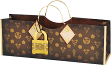 True Logo Purse Bag