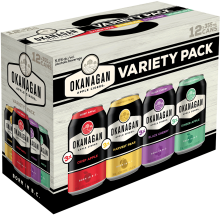 Okanagan Premium BC Cider Sampler 12 x 355 ml