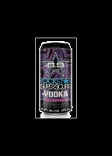 Rockstar + Vodka Blue Raspberry 473 ml
