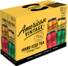American Vintage Iced Tea Mixer Pack 12 x 355 ml