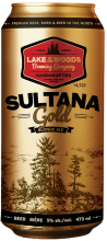 Lake of the Woods Brewing Sultana Gold North American Blonde Ale 473 ml