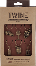 Grapevine Vineyards Wine Charms