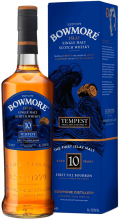 Bowmore Tempest Small Batch Release VI 10 Year Islay Single Malt Scotch Whisky 700 ml