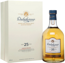 Dalwhinnie 25 YO Highland Single Malt Scotch Whisky 750 ml