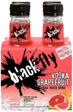 Black Fly Vodka Grapefruit Mixed Drink 4 x 400 ml