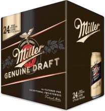 Miller Genuine Draft 24 x 355 ml