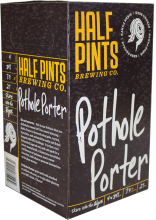 Half Pints Pothole Porter 4 x 341 ml