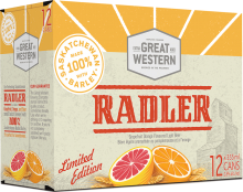 Great Western Radler 12 x 355 ml