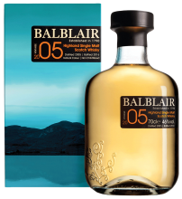 Balblair 2005 Vintage Highland Single Malt Scotch 700 ml