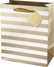 Ritzy Stripe Gift Bag