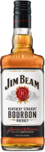 Jim Beam Kentucky Straight Bourbon Whiskey 750 ml