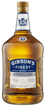 Gibson's Finest Sterling Canadian Whisky 1.75 Litre