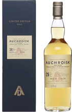 Auchroisk 25 Year Single Malt Scotch Whisky 750 ml