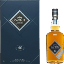 Cambus 40 Year Single Grain Single Malt Scotch Whisky 750 ml