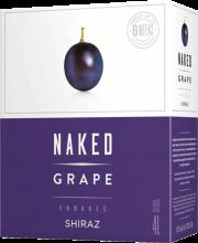 Naked Grape Unoaked Shiraz 4 Litre