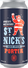 Fort Garry Brewing St. Nick' s Oak Aged Porter 473 ml