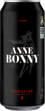 Corsaire Microbrasserie Inc. Anne Bonny Pilsner 473 ml
