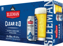 Sleeman Clear Lager 15 x 355 ml