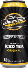 American Vintage Barely Sweet Original Iced Tea 473 ml