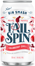 Tail Spin Gin Smash Cranberry Chill 6 x 355 ml