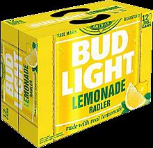 Bud Light Lemonade Radler 12 x 355 ml