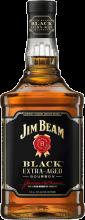 Jim Beam Black Extra Aged Bourbon Whiskey 375 ml