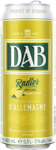 DAB Unfiltered Lemon Radler 500 ml