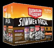 Okanagan Spring Summer Pack 12 x 355 ml