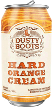 Iconic Brewing Dusty Boots Hard Orange Cream 473 ml