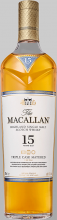 Macallan 15 Year Triple Cask Single Malt Scotch 750 ml