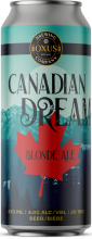 Oxus Brewing Company Canadian Dream Blonde Ale 473 ml