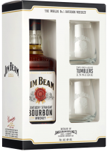 JIM BEAM WHITE GIFT PACK 750 ml