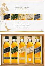 Johnnie Walker Explorer Scotch Whisky Tasting Pack 5 x 50 ml