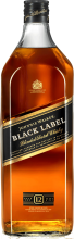 Johnnie Walker Black Label 12 Year Old Scotch 1.75 Litre