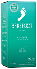 BAREFOOT MOSCATO 3 Litre